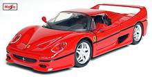 Maisto 1:24 F50 Assembly DIY Diecast Model Car Toy New In Box Free Shipping