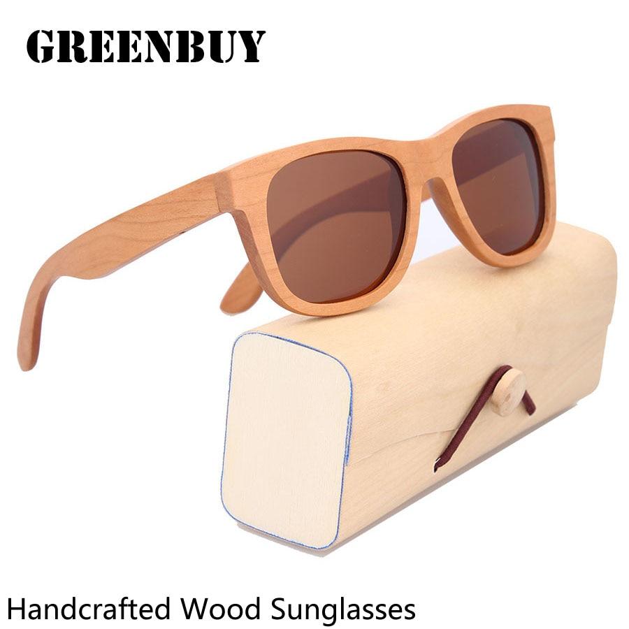 Wood Glasses Men Oculos Vintage Eyewear Man Sunglasses UV400 Polarized Lunette de Soleil Homme Marque Mens Sunglasses Eyewear<br><br>Aliexpress