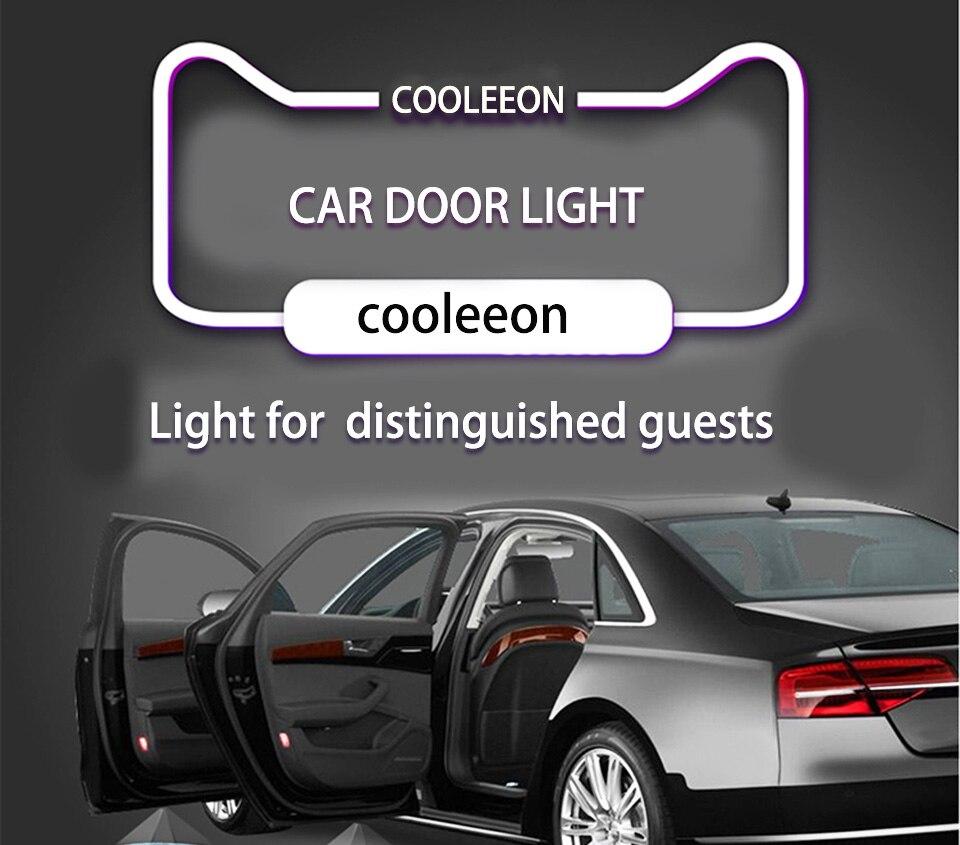 car door light welcome lamp auto decoration bulb car brand logo projector (1)