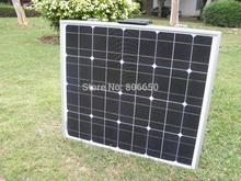 100w 12v MONO Folding solar panel for 12v battery, car , Rv boat, home ,free shipping(China)