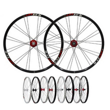 230914/Mountain bicycle Wheel Group Bicycle / Pei Lin Quick Release Flower Drum 26 inch double circle disc brake wheel rim(China)