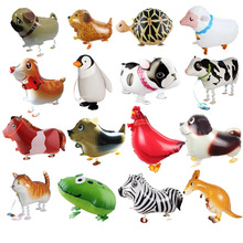 New walking Foil Balloons Animals Inflatable Air Balloon for Birthday Party Wedding Supplies Children Toys Free Shipping