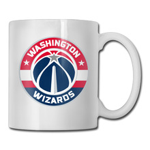 Washington Wizards Basketball Logo coffee mug artistic women tazas ceramic tumbler caneca tea Cups