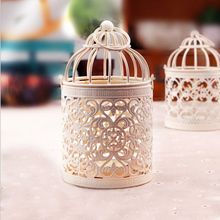 Moroccan Candlestick Votive Iron Candle Holders Candle Lantern Party Home Decoration CY1