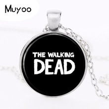 Buy 2017 THE WALKING DEAD Necklace Pendant Rick punk jewelry Gothic Glasses ancient Pendant Necklace gift Chain HZ1 for $1.17 in AliExpress store