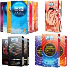 Buy MingLiu 10pcs Many Types Condoms Man,Ultra-Thin Lubrication Dots Pleasure,Sex Contraception Safer Products Couples
