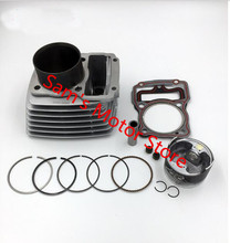 ZONGSHEN LIFAN LF CG ZS 200 63.5MM Air Cooled Cooling Motorcycle Cylinder Kits With Piston And Pin