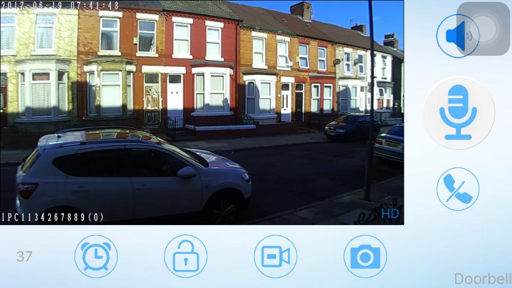 HD Doorbell date time snapshot2