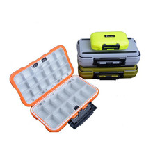 Y074 Free shipping Fishing Tackle Boxes waterproof angeles fishing gear box Freshwater sea fishing equipment accessories