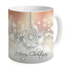 Creative Light Shining Ceramic Mugs Water Container Cups Mugs Milk Tea Cup Coffee Mug Home Merry Christmas Custom Printed Mug(China)