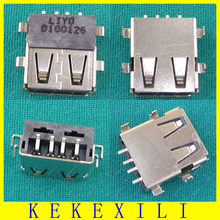 100% Tested 10pcs/lot USB Replacement Port jack USB  Connector USB Socket for Acer 5750 5755 G Z ZG 5252 5551