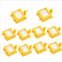 10Pcs Hepa Fully Compatible Replacement Filter For iRobot Roomba Vacuum cleaner 700 760 770 780 Free Shipping SA041(China)