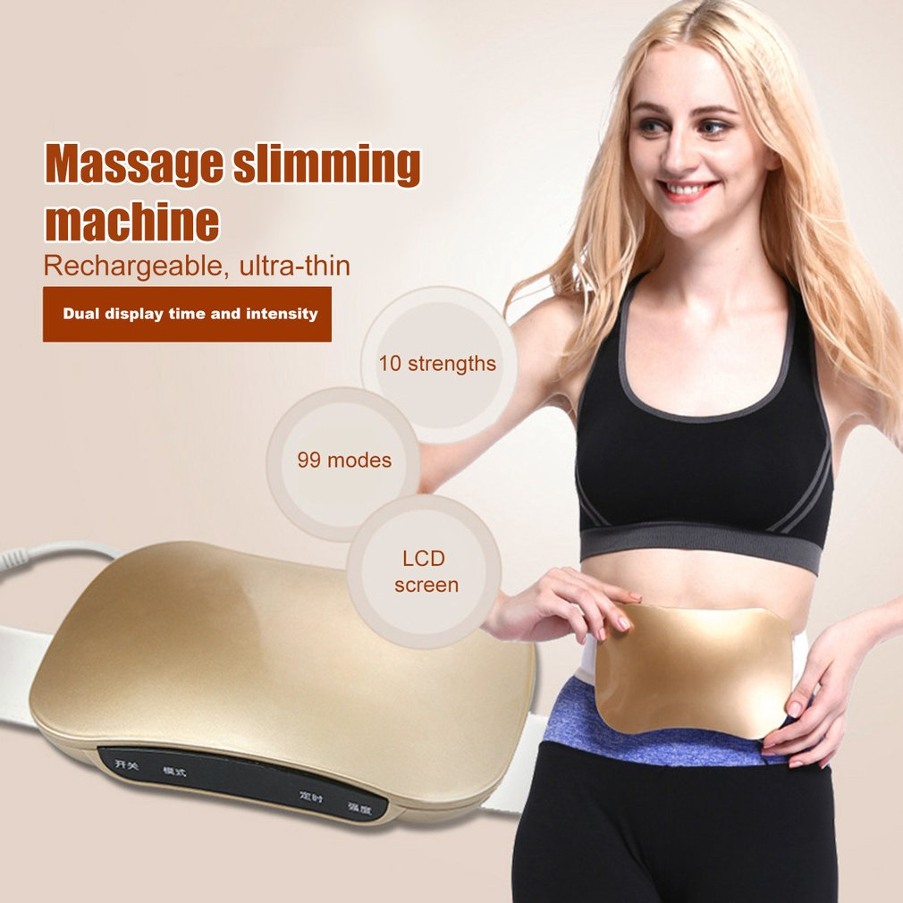 women waist slimming belt belly Body Shaping Massage Equipment Slimming Machine Electric Vibration Fat Dumping Machine<br>