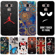 Asus Zenfone 3 max zc553kl case silicon cover cool design cartoon painted soft tpu cover for Asus Zenfone 3 max case 5.5 zc553kl