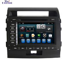 Pure Android 6.0 8 inch Car DVD Player for Toyota Land Cruiser 200(2008 2009 2010) with Bluetooth 800*480 free shipping