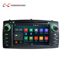 Quad Core Android 5.1 Car DVD Head Unit for Toyota Corolla E120 BYD F3 Radio Tape Recorder with GPS 3G WiFi+Free Rearview Camera