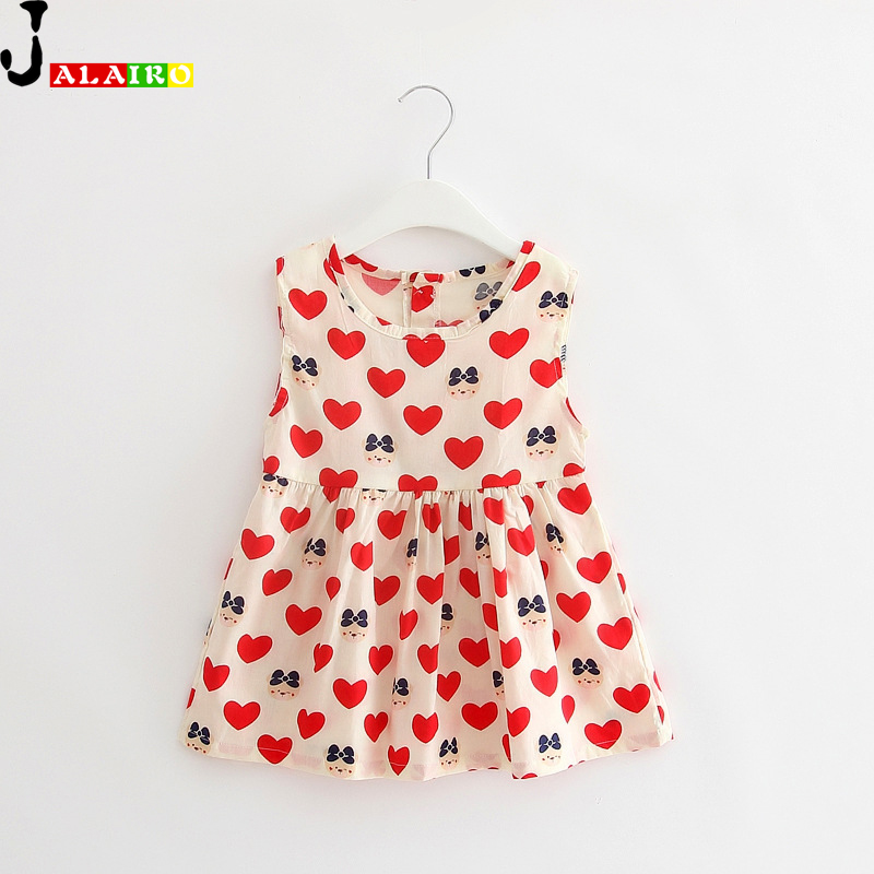 Girls Dress Summer Dresses For Girls Printed Clothing Cotton Birthday Party Sundress Baby Children Clothes Vestido Bebe<br><br>Aliexpress