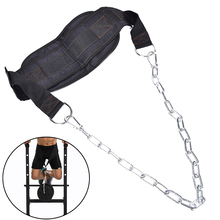 Load Belt Pull Ups Fitness Equipment Waist Exercise Barbell Belt Body Building Strength Training Muscle Gym Sports Box