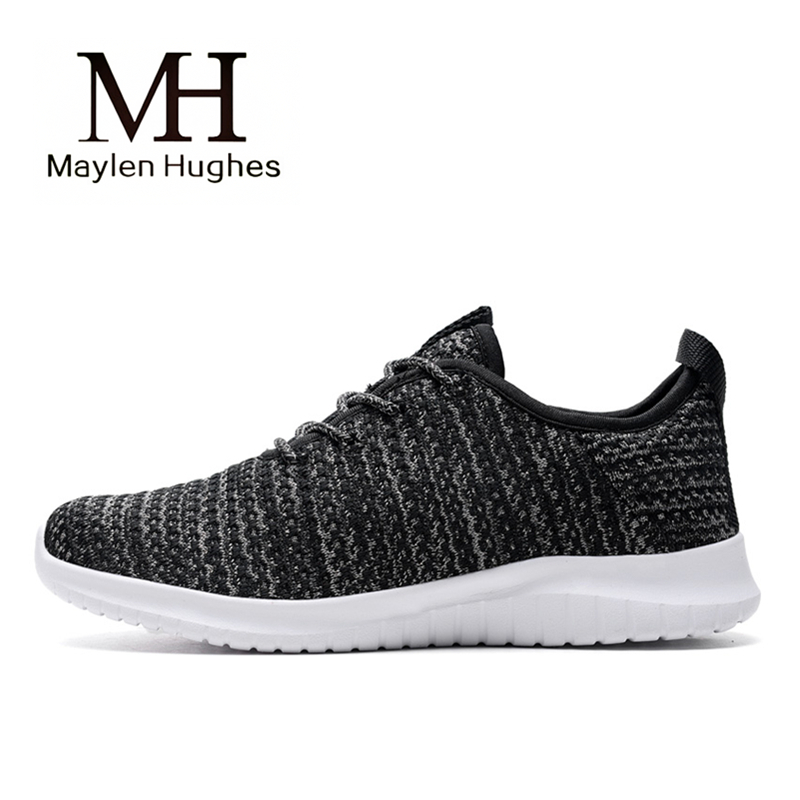 2018 Spring/Summer Breathable Sport Shoes Women Lightweight Mesh Sneakers Women Luxury Black Walking Shoes Plus Size 8 9 10