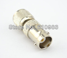 Free shipping (5 pieces\lot) RF BNC&MINI UHF Adapter BNC Female Jack to MINI UHF Male Plug Nickelplated Straight Connector