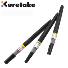 ZIG Kuretake Refillable Calligraphy Brush Pen No.22 No.24 Black Comic Drawing Extra Dark Japan