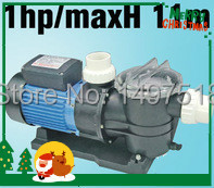 0.75KW/1HP SWIMMING POOL PUMP with Filter, pool filter pump Max Flowrate 275 L/min (16500 L/H) Max head 11M