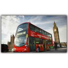 London Big Ben Landscape Posters Silk Canvas Fabric Image Home Decoration Rooms Well Designed Wallpaper Posters FJ375(China)