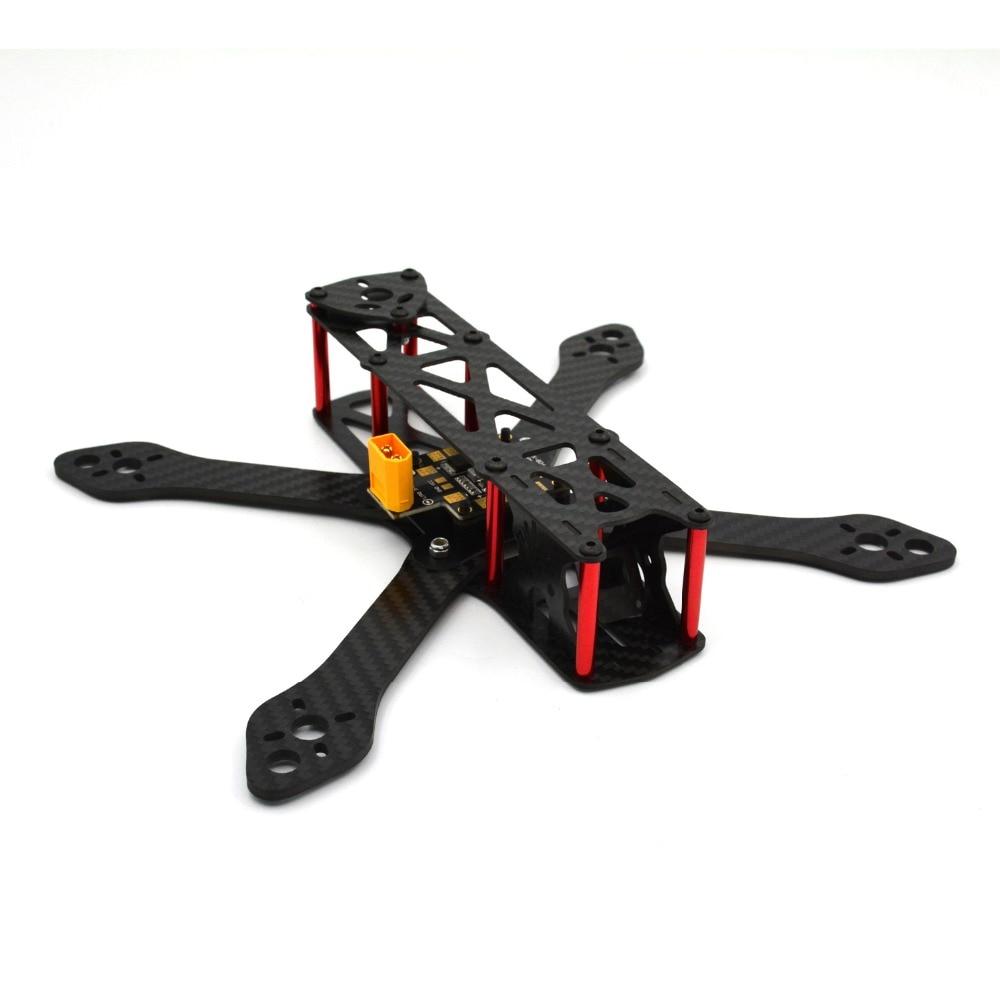 Martian 230MM 3mm ARM Carbon fiber Quadcopter Frame w/ PDB-XT60<br><br>Aliexpress