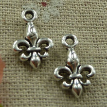 300 pieces tibetan silver nice charms 16x10mm #2406
