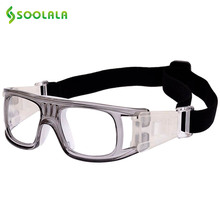 SOOLALA Luxury Brand Sports Goggles Eyewear Dribble Protective Eyeglasses Windproof Dust-proof Glasses(China)