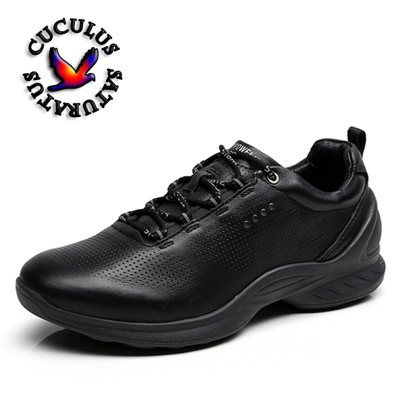 Winter Spring Genuine leather Shoes Man Running Shoes Snow Shoe Sport Shoes Outdoor Leisure Sneakers Zapatillas Mujer 837514<br>