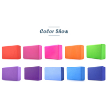 High Quality EVA Yoga Block Brick Pilates Sports Exercise Gym Foam Workout Stretching Aid Body Shaping Health Training(China)