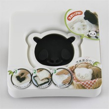 Cooking Tools New Diy Kitchen Cooking Cute Panda Shape Food Grade Plastic Sandwich Maker Bread Cutter Mold,children Favor Tools(China)