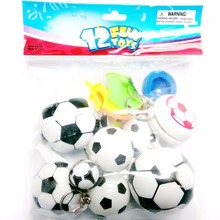 12 PCS Football Soceer Party Toys MIX LOOT Boys Pinata Bag Fillers Birthday Party Favors LUCKY gift PRIZE novelty gag carnival