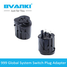 [Bvanki]10Pcs/Lot all in one universal international plug adapter AC power Cheap 2 usb ports adaptor, China ac power Suppliers