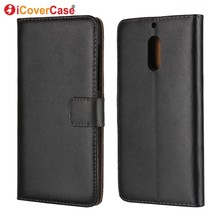 Coque for Nokia 6 Case Cover Mobile Phone Bag Accessory Flip Leather Wallet for Nokia 6 Nokia6 5.5'' Fundas Capa Telefoonhoesje(China)