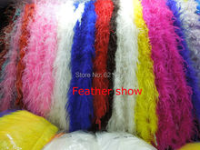 2PCS/LOT! 1 ply ostrich boa  ostrich feather boa for performance stage decoration accessories