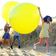 36inch 90cm Round Clear Balloon Latex Balloons Wedding Decoration Inflatable Helium balloon Wedding Balloons Birthday Balls