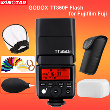 Godox TT350F Camera Flash Speedlite 2.4G TTL HSS GN36 1/8000s for Fujifilm Fuji X-Pro2/1 X-T20 X-T2 X-T1 X-T10 X-E1 X-A3 X100F(China)