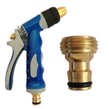 Brass Threaded Hose Water Pipe Connector Tube Tap Adaptor Fitting Garden Connectors Gardening Accessories