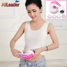 Alileader Electric Body Slimming Massager Anti-Cellulite Massager Professional Body Massager With 4 Massage Head For Lose Weight