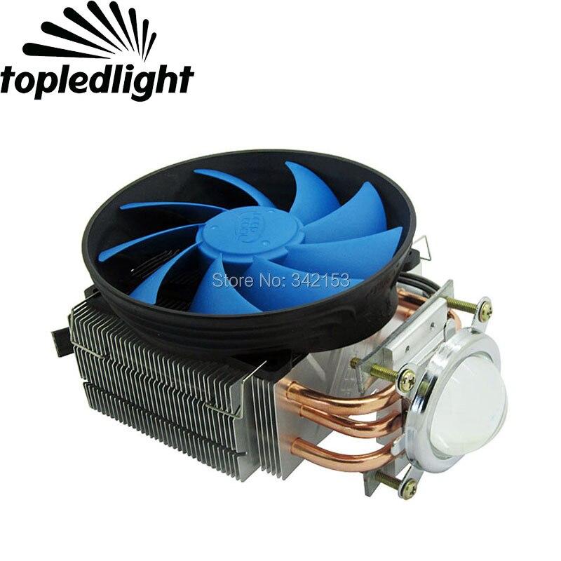 44.5MM Led Lens + DC12V 50W - 100W Led Heatsink Cooling Fans For High Power Spot Lights Automobile Lights Projector Lamps<br>