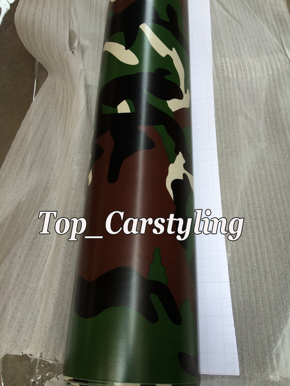 forest camouflage vinyl car wrapping film arctic (4)