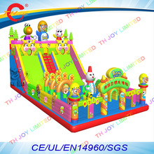 free sea shipping,commercial  pororo inflatable funcity bouncers combo,giant inflatable  jumper slide