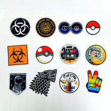 Wholesale Lot 12 pcs POKEBALL STORING POKEMON Mixed Sport Car Racing Logo Patch Iron Shirt Decor DIY