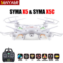 Original SYMA X5C (Upgrade Version) RC Drone 4CH 6-Axis Remote Control Helicopter Quadcopter With 2MP HD Camera or X5 No Camera