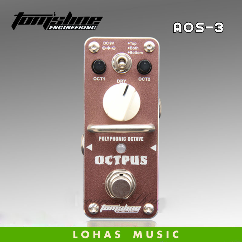 TOMSLINE AOS-3 OCTPUS Digital Eight tones / Guitar effects pedal<br>