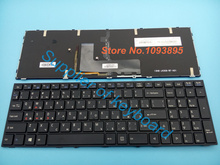 NEW Russian Keyboard For CLEVO P651 P651SE P655 P671 P655SE P671SG P650 P651 P650SA P650SE Laptop Russian Keyboard With Backlit