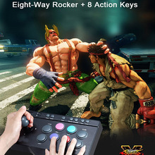 Arcade fightstick Game Joystick Gaming Controllers Game Rocker Gampad handle controller for PC/PS4/PS3/XBOX ONE /Android Gampads(China)