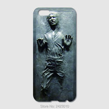 High Quality Cell phone case For iPhone 6 6S 7 Plus SE 5 5S 5C 4 4S iPod Touch 6 5 Han Solo Carbonite Star Wars Patterned Cover